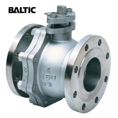 API 6D Side Entry Floating Ball Valve, CF8, 4 Inch, Class 150, RF