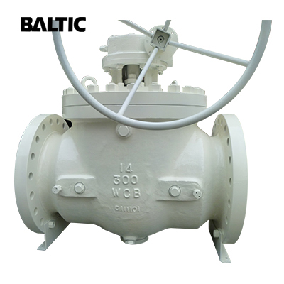API 6D Top Entry Ball Valve, 14 Inch, Class 300, ASTM A216 WCB