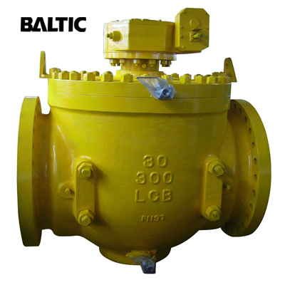 ASTM A352 LCB Top Entry Ball Valve, API 6D, 30 Inch, 300 LB, RF