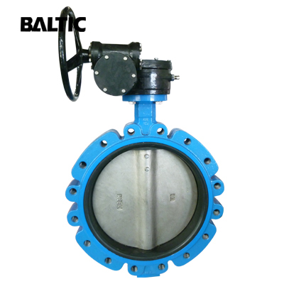 Centric Line Butterfly Valve, DI, 18 Inch, CL125, API 609, Wafer