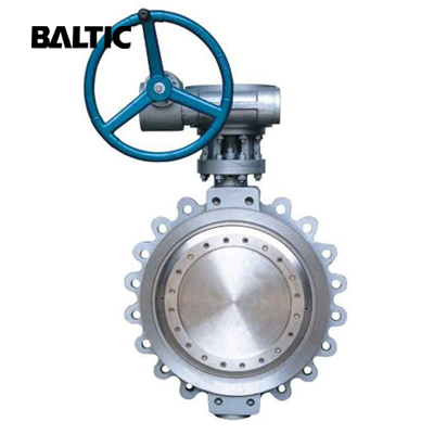 Triple Eccentric Butterfly Valve, A351 CF8, 18 Inch, 300 LB, Lug