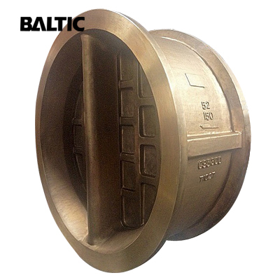 Dual Plate Wafer Check Valve, ASTM B148 C95800, 52IN CL150, API 594