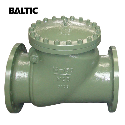 API 6D Swing Check Valve, Full Bore, ASTM A216 WCB, 16IN, CL150