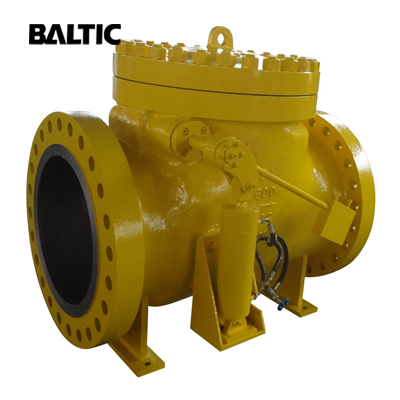 BS 1868 Swing Check Valve, ASTM A216 WCB, 24 Inch, CL600, RF