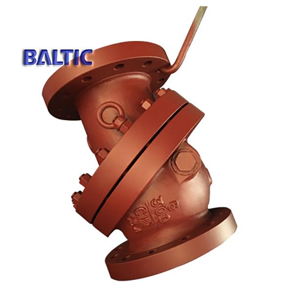 BB Tilting Disc Check Valve, A217 C12, 6IN CL300, BS 1868, RF