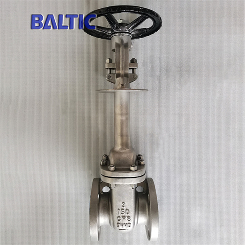 API 600 Stainless Steel Cryogenic Gate Valve, 3 Inch, 150 LB