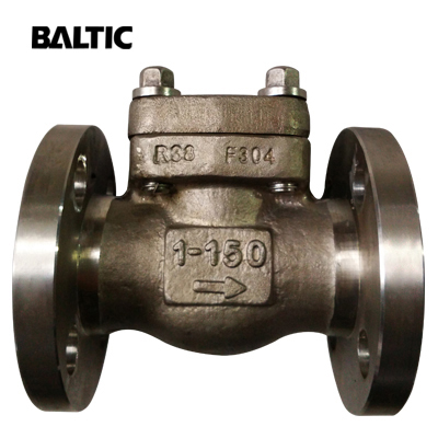 ASTM A182 F304 Small Size Lift Check Valve, 1 Inch, 150 LB, RF