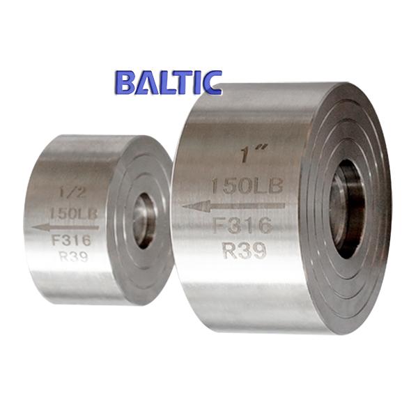 ASTM A182 F316 Check Valve, 1 Inch, Class 150 LB, API 602, RF