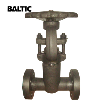 ASTM A182 F22 Forged Steel Gate Valve, 1/2 Inch, 2500 LB, RTJ End