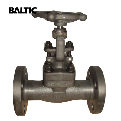 ASTM A182 LF2 Forged Steel Gate Valve, 1 Inch, CL600, RF