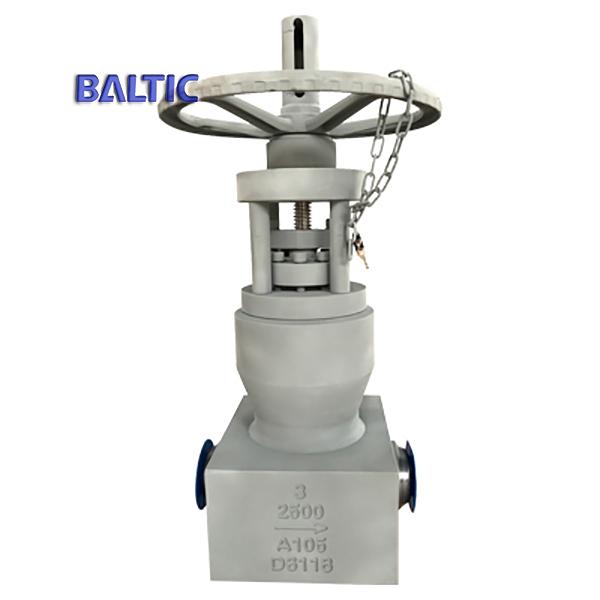 API 600, ASME B16.34 Pressure Seal Gate Valve, ASTM A105, 3 Inch