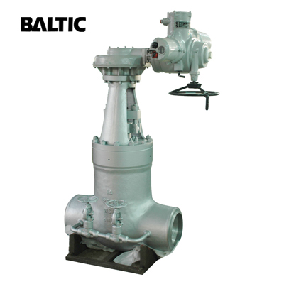 ASTM A217 WC9 Pressure Seal Bonnet Gate Valve with Bypass
