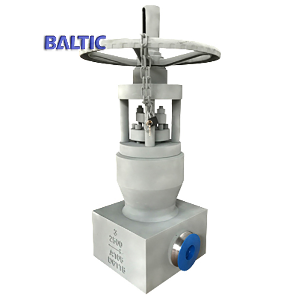 ASTM A105 Pressure Seal Bonnet Gate Valve, 3 Inch, 2500LB, BW
