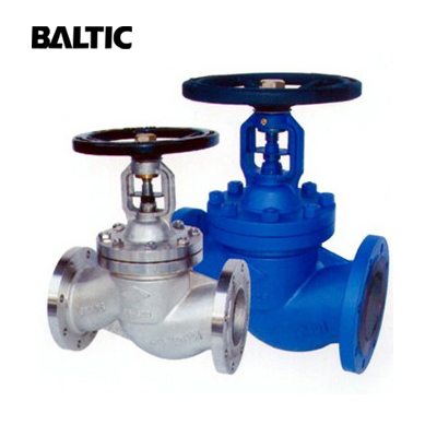 ASTM A217 WC6 Globe Valve, Bellow Seal, DN200, PN40, RF Ends