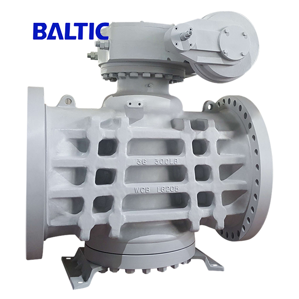 36 Inch Plug Valve, Pressure Balance, ASTM A216 WCB, 300 LB, API 6D