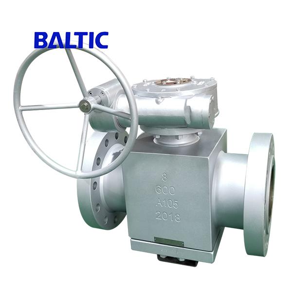 Inverted Pressure Balance Lubricated Plug Valve, A105, 8 Inch 600LB