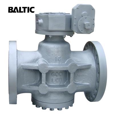 Pressure Balance Lubricated Plug Valve, A352 LCB 16 Inch 600 LB RF