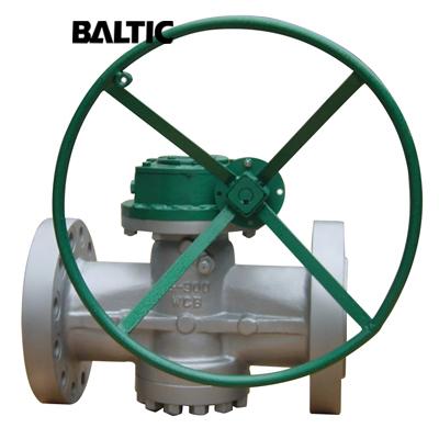 Pressure Balanced Plug Valve, ASTM A216 WCB, 3 Inch, 900 LB, RTJ