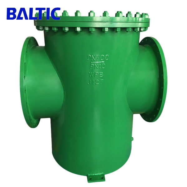 ASTM A234 WPB Basket Strainer, DN700, PN10, RF, ASME B16.34