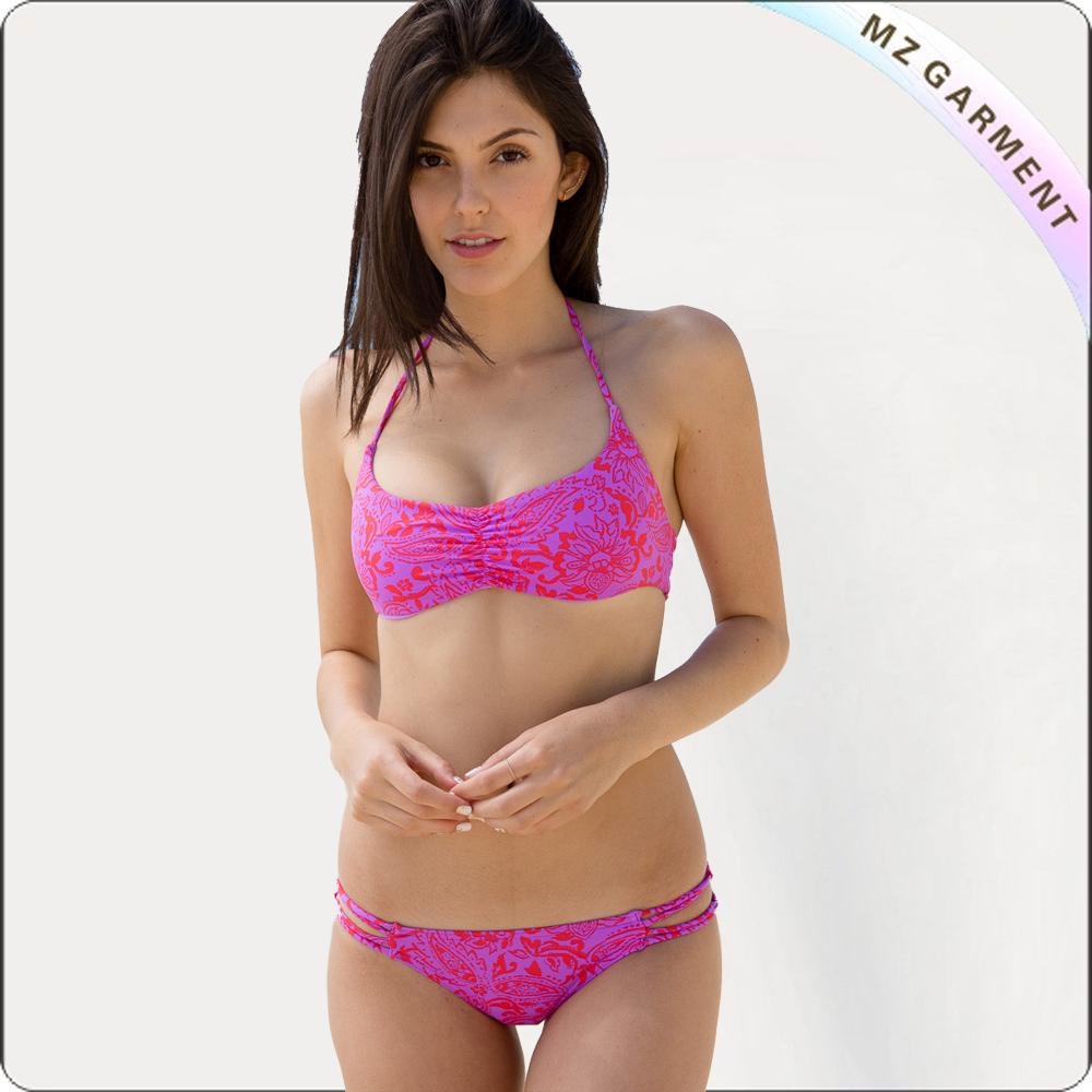 Adult Fushia Bikini Set