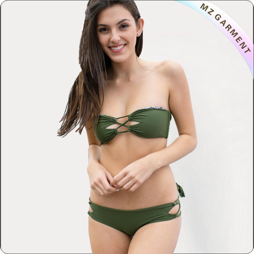 Adult Olive Green Bikini