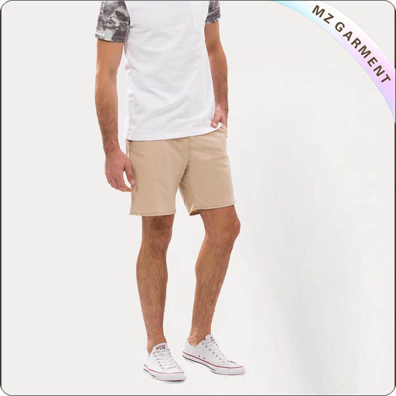 Men Camel Surf Trunks