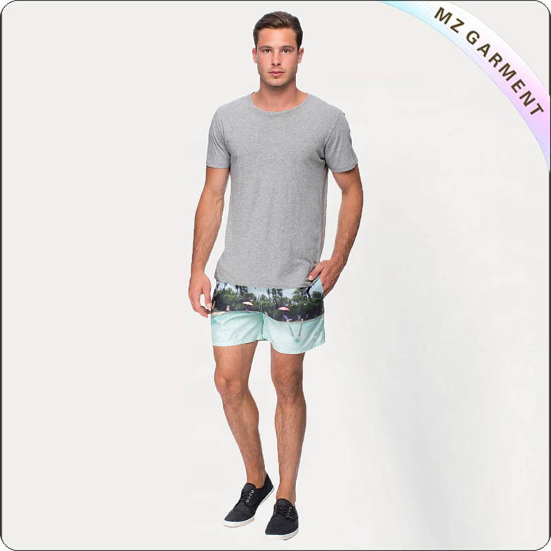 Men Viridescent Board Shorts