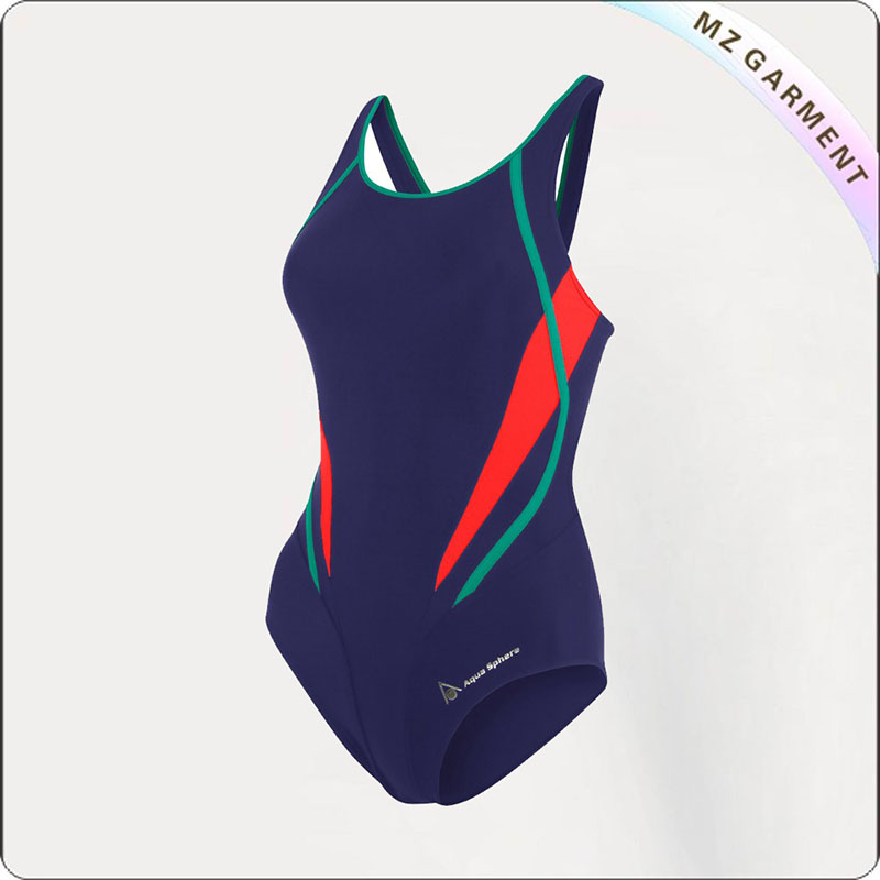 Adult Breathable Athletic Swimwear