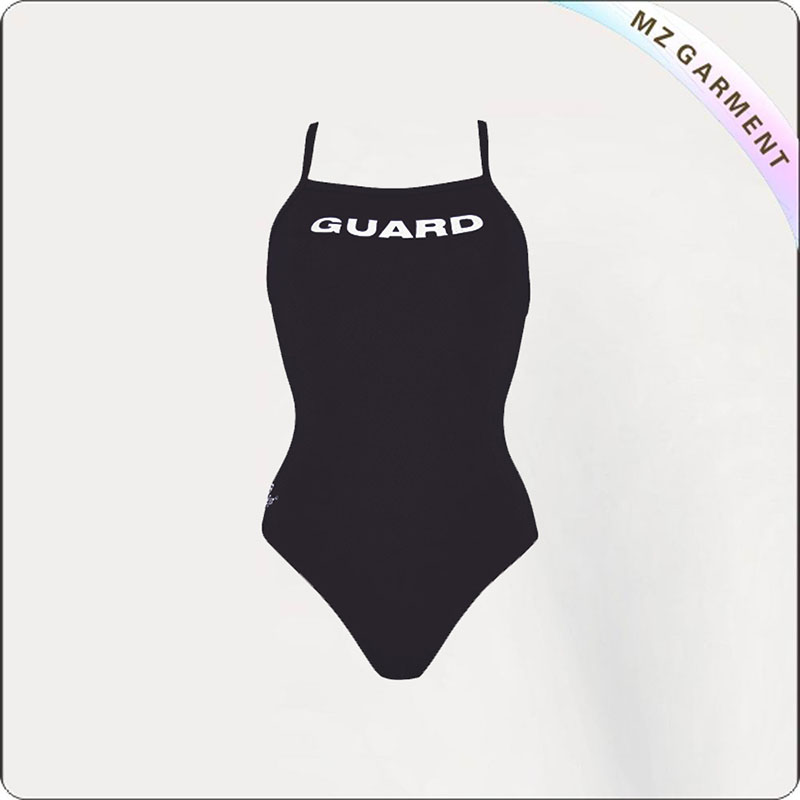 Adult Charcoal Racing Swimming Clothes
