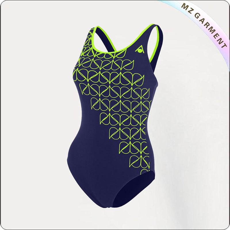 Adult Dessin Caviar Sport Swim Costume