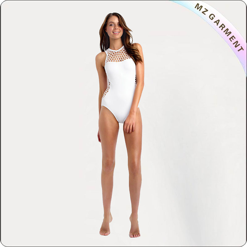 Adult Mesh One Piece Monokini