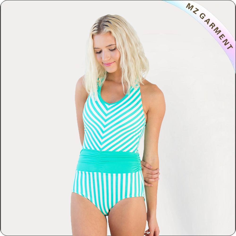 Adult Ming Blue One-Piece Swimwear