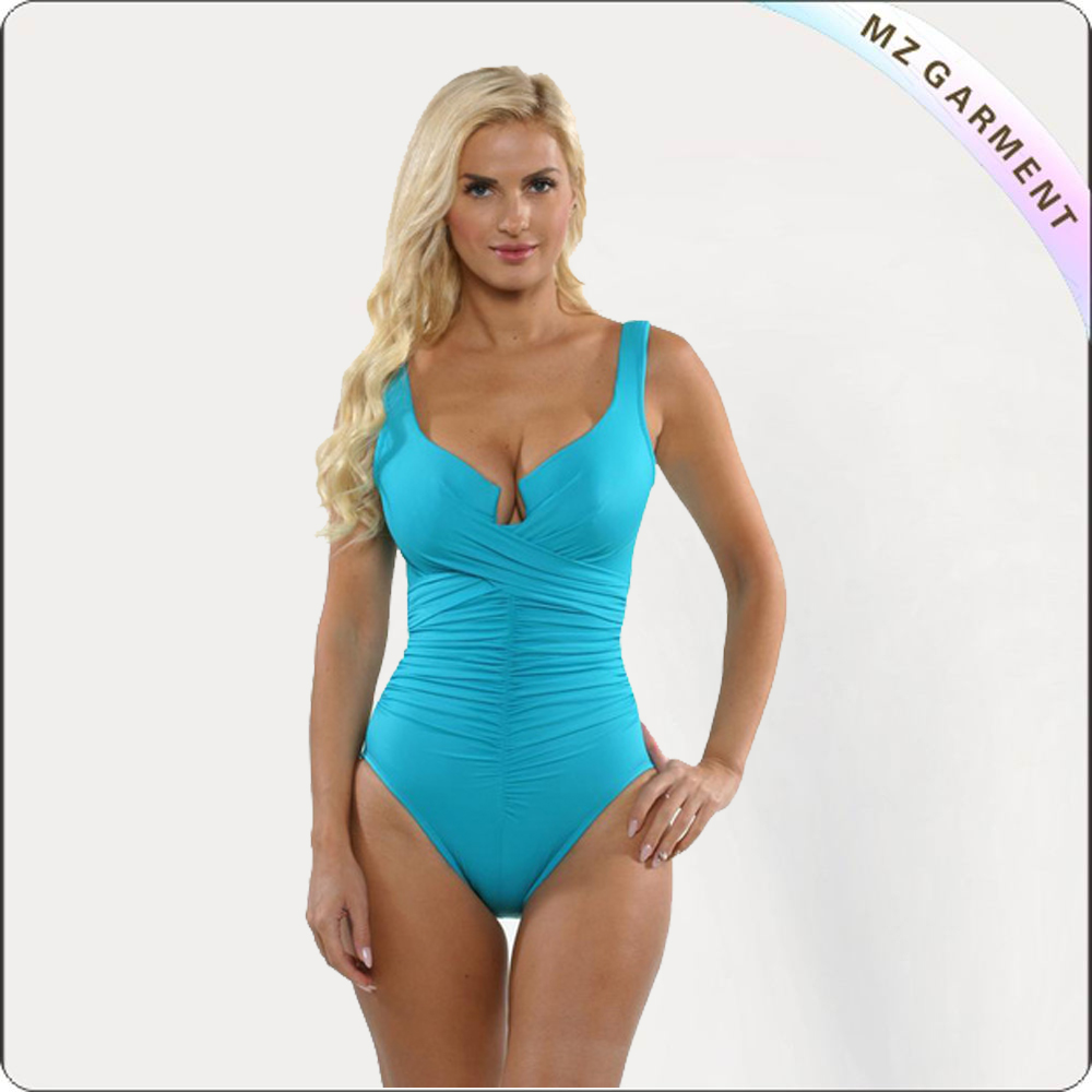 Adult One-Piece Bluish Suit