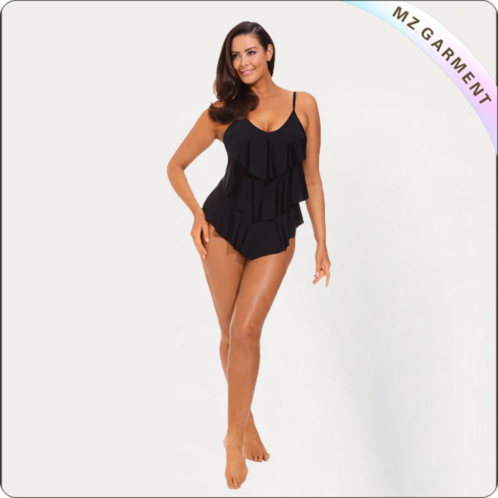 Adult UV Block One Piece Bathing Suit