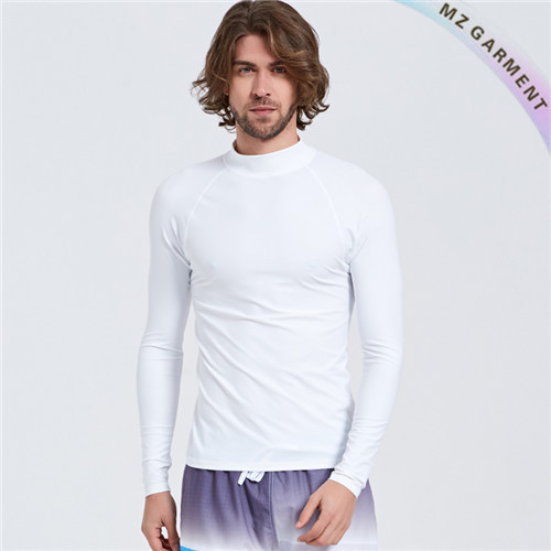 Long Sleeve Men's Rashie, UPF 50+, Water-proof, Different Colours