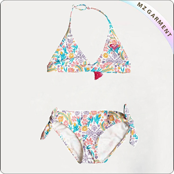 Girls' Caravane Beauty Halter Bikini