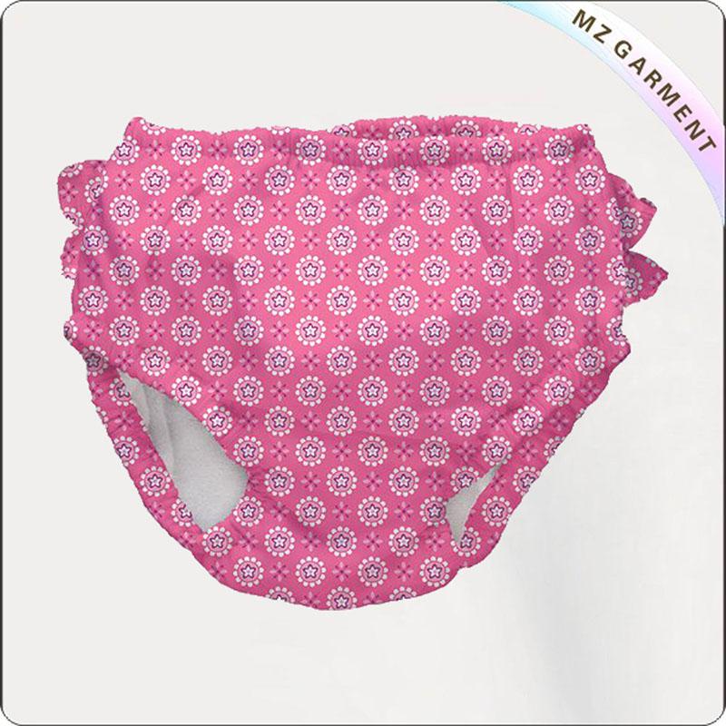 Baby Pink Star Aqua Nappy