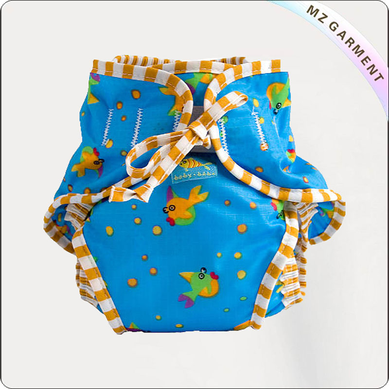 Kids Fish Aqua Diaper