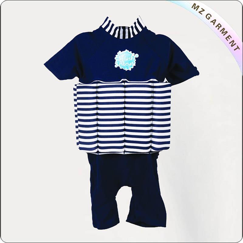 Infants Navy Flotation Suit