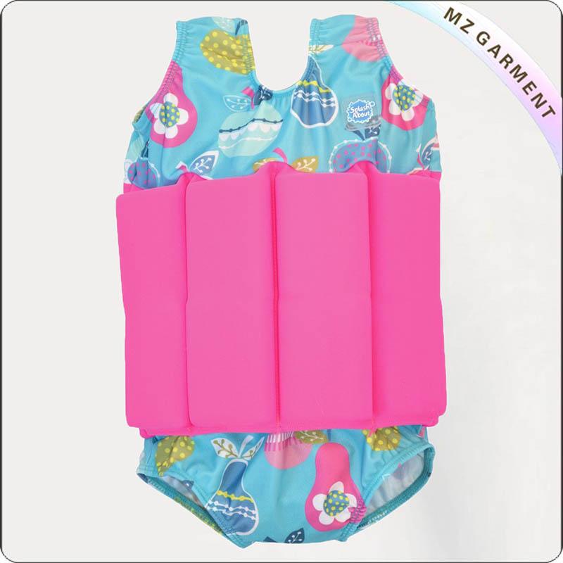 Kids Azure Buoyancy Swim Suit