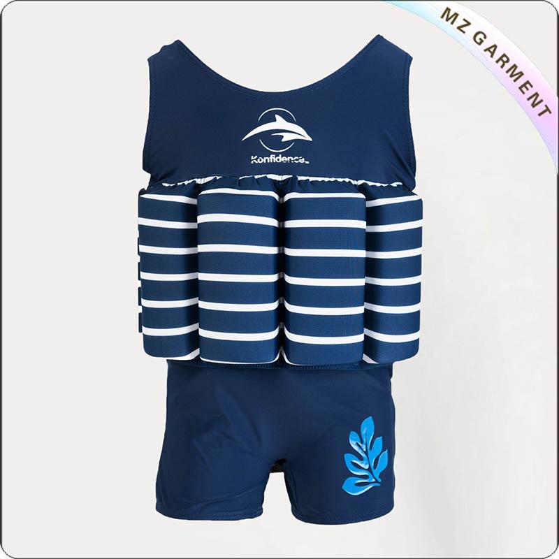 Kids Navy Flotative Swimwear