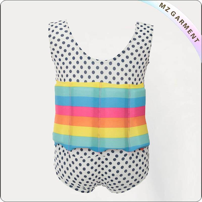 Kids Rainbow Flotation Swimwear