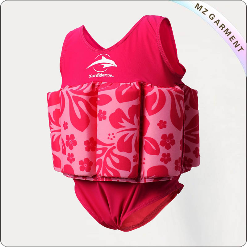 Kids Rosy Buoyancy Suit