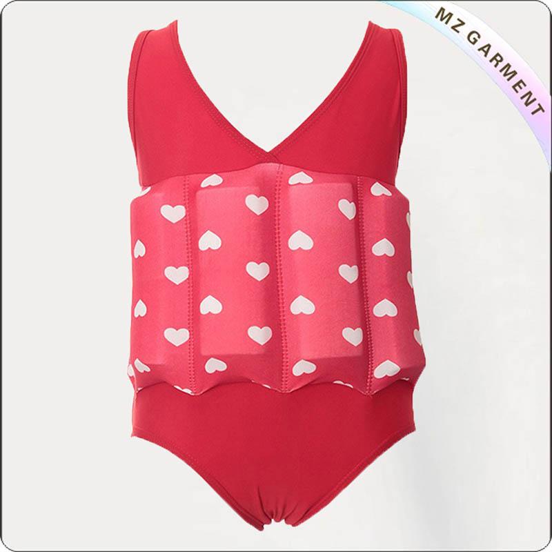 Kids Scarlet Buoyant Swimsuit