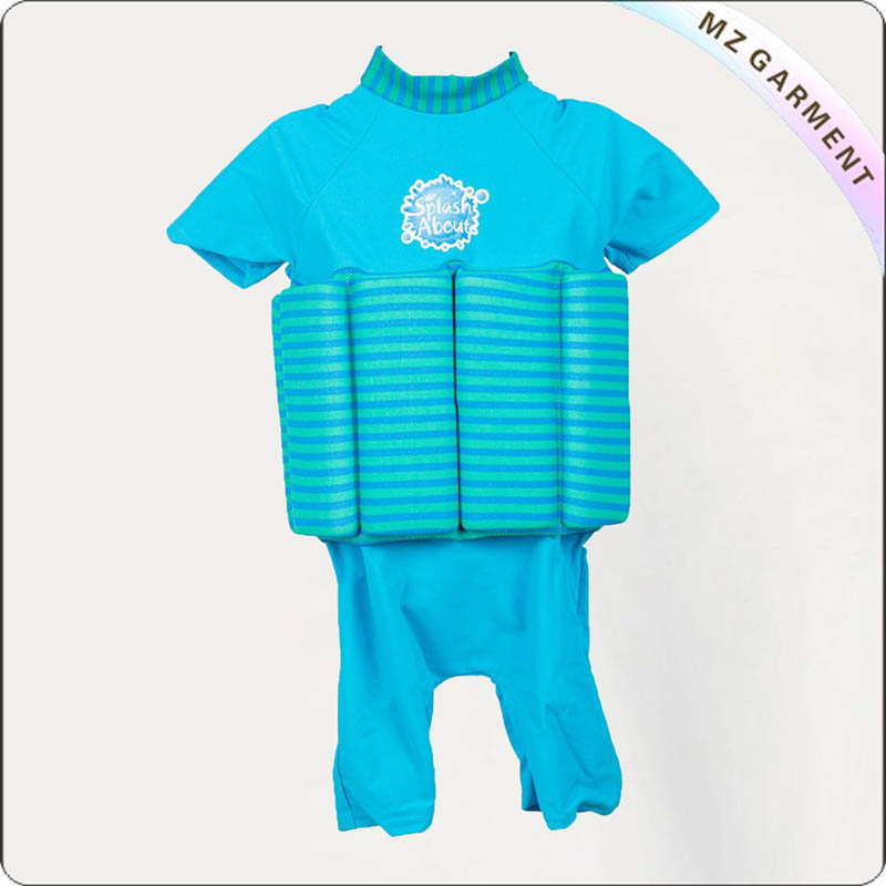 Toddler Stripe Float Suit
