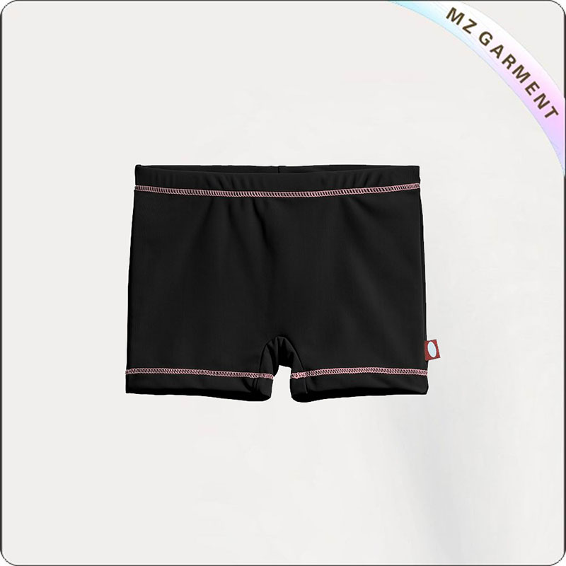 Girl Atheltic Aqua Boyshorts