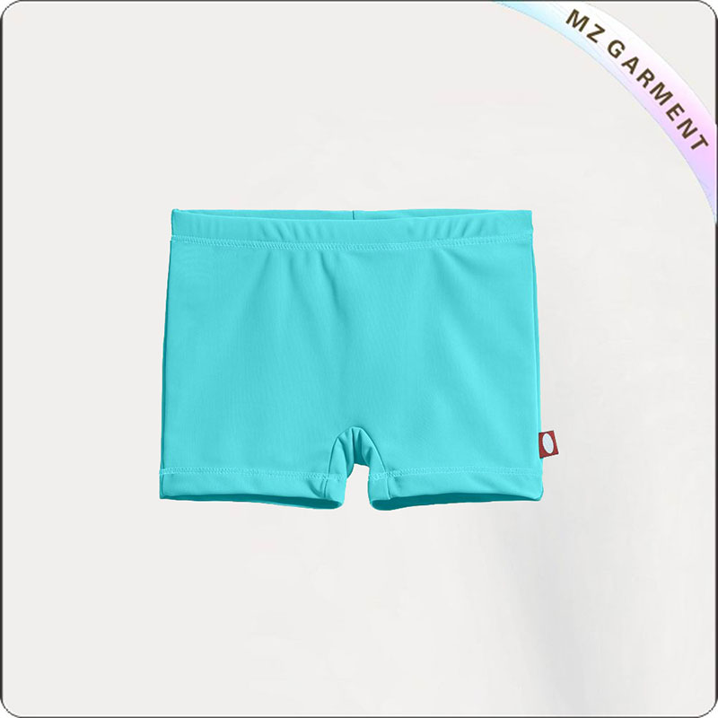 Girl Bluish Swimming Bottom