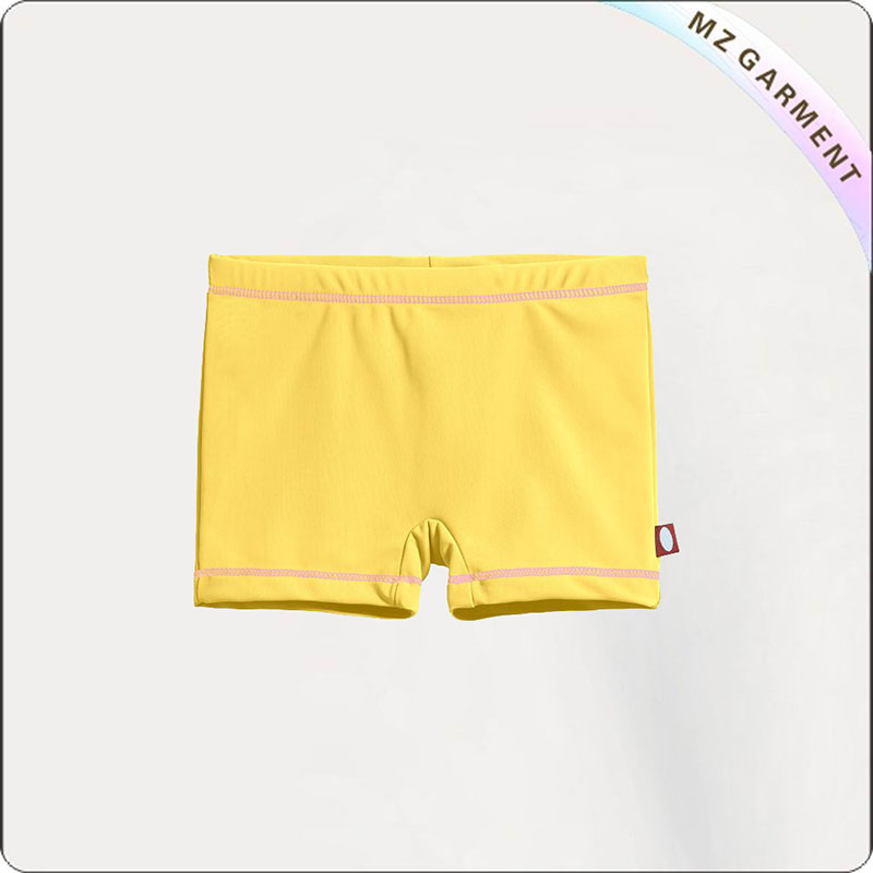 Girl Breathable Aqua Booty Shorts
