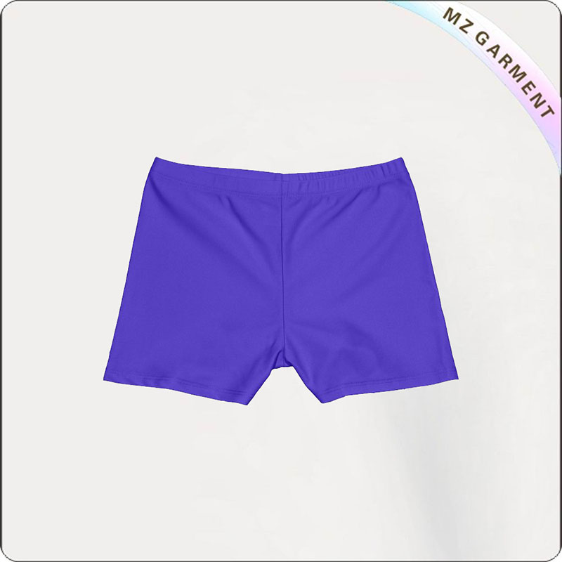Girl Pansy Aqua Boyshorts