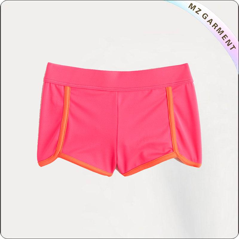 Girl Peachpuff Booty Shorts Swim